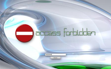 Click to view Access Forbidden 1.0 screenshot