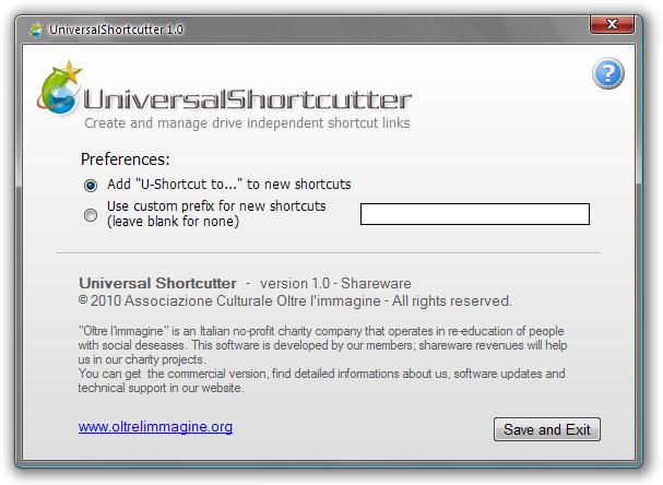 Universal Shortcutter